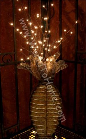 Battery Operated Large 38in. 60 Light LED Willow Lighted Branches Willow Branch Lights