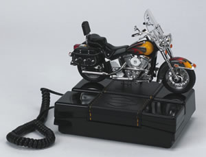 Softail Harley Davidson Telephone Collectible Antique Telephones