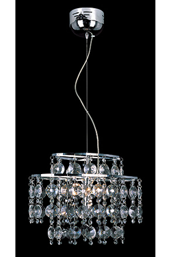 6 Light Modern Crystal Pendant Crystal Lighting