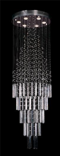 9 Light Pendant Crystal Crystal Lighting