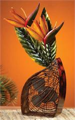 Bird of Paradise Decorative Fan Figurine Fans
