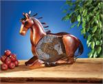 Decorative Horse Fan Figurine Fans