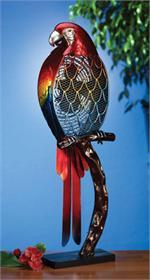 Figurine Parrot Fan Figurine Fans