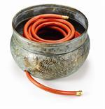 Key West- Brass Garden Hose Pots
