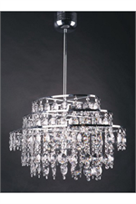 10 Light Modern Crystal Pendant Crystal Lighting