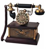 American Eagle 1911 Antique Telephone European Antique Brass Phones