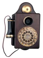 Antique Wall Telephone 1903 Reproduction Antique Wall Telephones Wooden