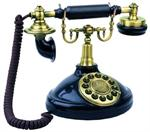 Viscount 1920 Antique Telephone European Antique Brass Phones